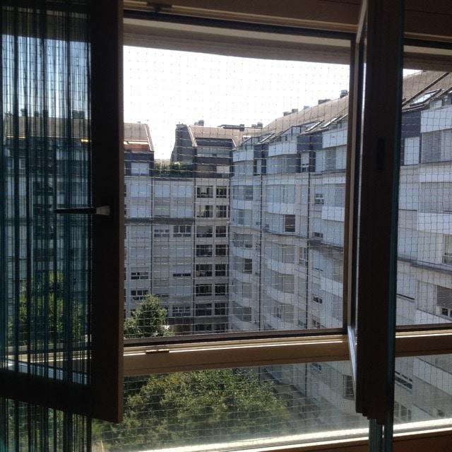 Filet vert pour fenêtre - Charmilles