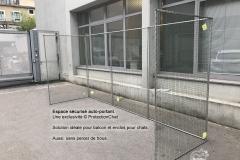 protection pour terrasse sans percer de trou