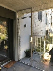 Filet De Sécurité Pour Chat Pour Porte Ou Porte Fenêtre Filet De