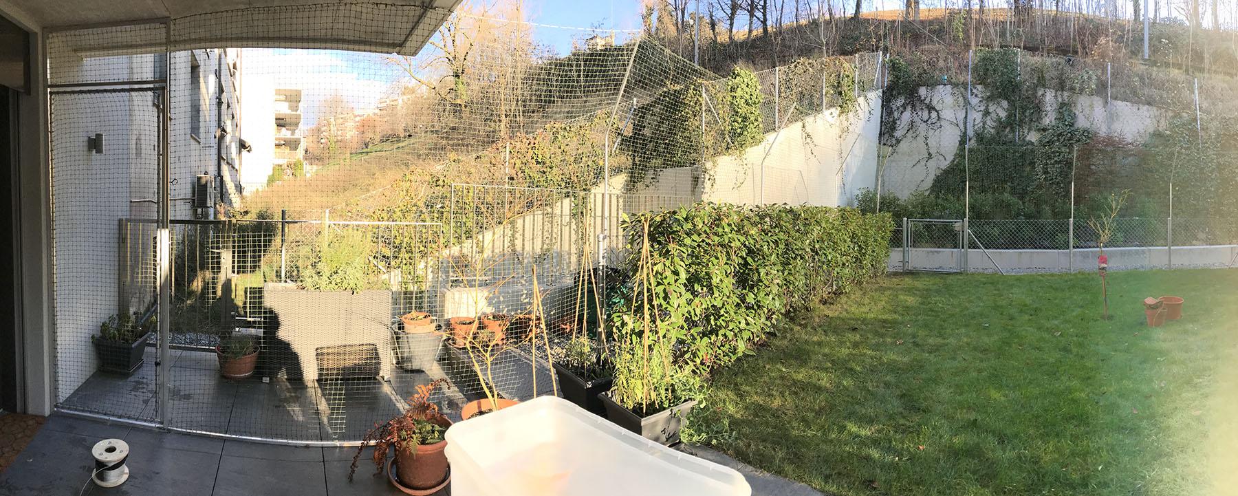 Sécuriser un jardin - Protection Chat